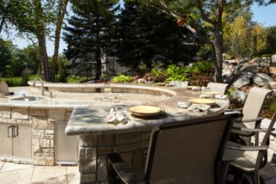 Nice Elite Landscaping Is A Turnkey Design And Build Contractor For Clients In  Omaha, NE And Lincoln, NE. We Specialize In Cabanas, Pool Houses, Finished  Three ...